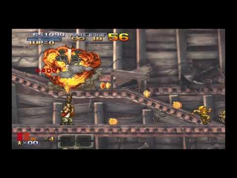 Mission 2 Metal Slug XX vintage games  