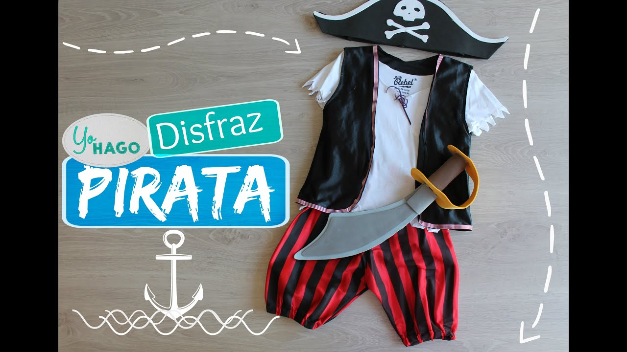 Diy Disfraz Pirata Youtube