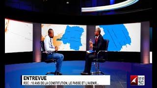 RDC:10 ANS DE LA CONSTITUTION, LE PASSE ET L'AVENIR 2/2 KODJO NDUKUMA