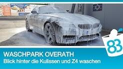 BMW Z4 35i waschen im Waschpark Overath mit Blick hinter die Kulissen der Waschstraße #WaschTour