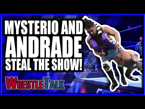 Rey Mysterio And Andrade STEAL THE SHOW! | WWE Smackdown Live Jan. 15 2019 Review