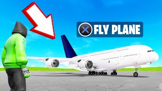 Playing A FLIGHT SIMULATOR In FORTNITE!