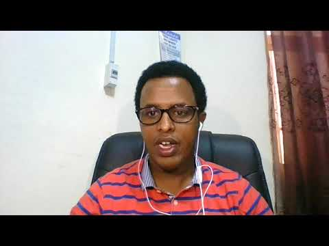 Muktar Adan NEF Ambassador Application # Somalia 2018