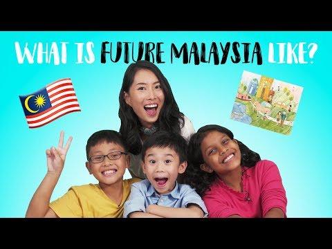 Artist Draw Kids' Future Malaysia | KIDS INVADE SAYS