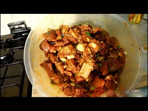 The World Best Jamaican Curry Goat Hot Recipe 2016 (Jamaican Chef) | Recipes By Chef Ricardo