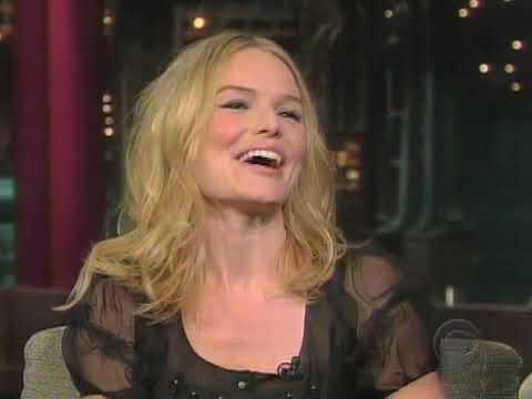 Kate Bosworth on David Letterman Show 2008