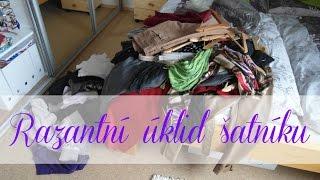 Razantní úklid šatníku