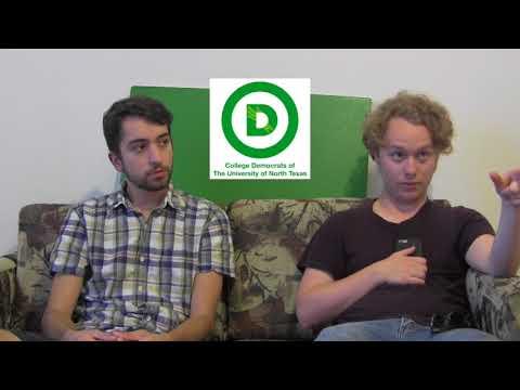College Democrats of North Texas Weekly Update 9-3-17