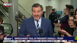 "Sen. Ted Cruz (R-TX): ""WE WILL CONDUCT A FAIR TRIAL"""