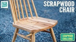Chair made from Scrap Wood - Scrapwood Challenge ep32