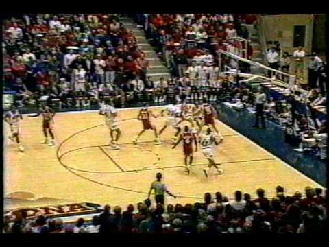 1992/1993 Arizona Basketball vs Utah Utes