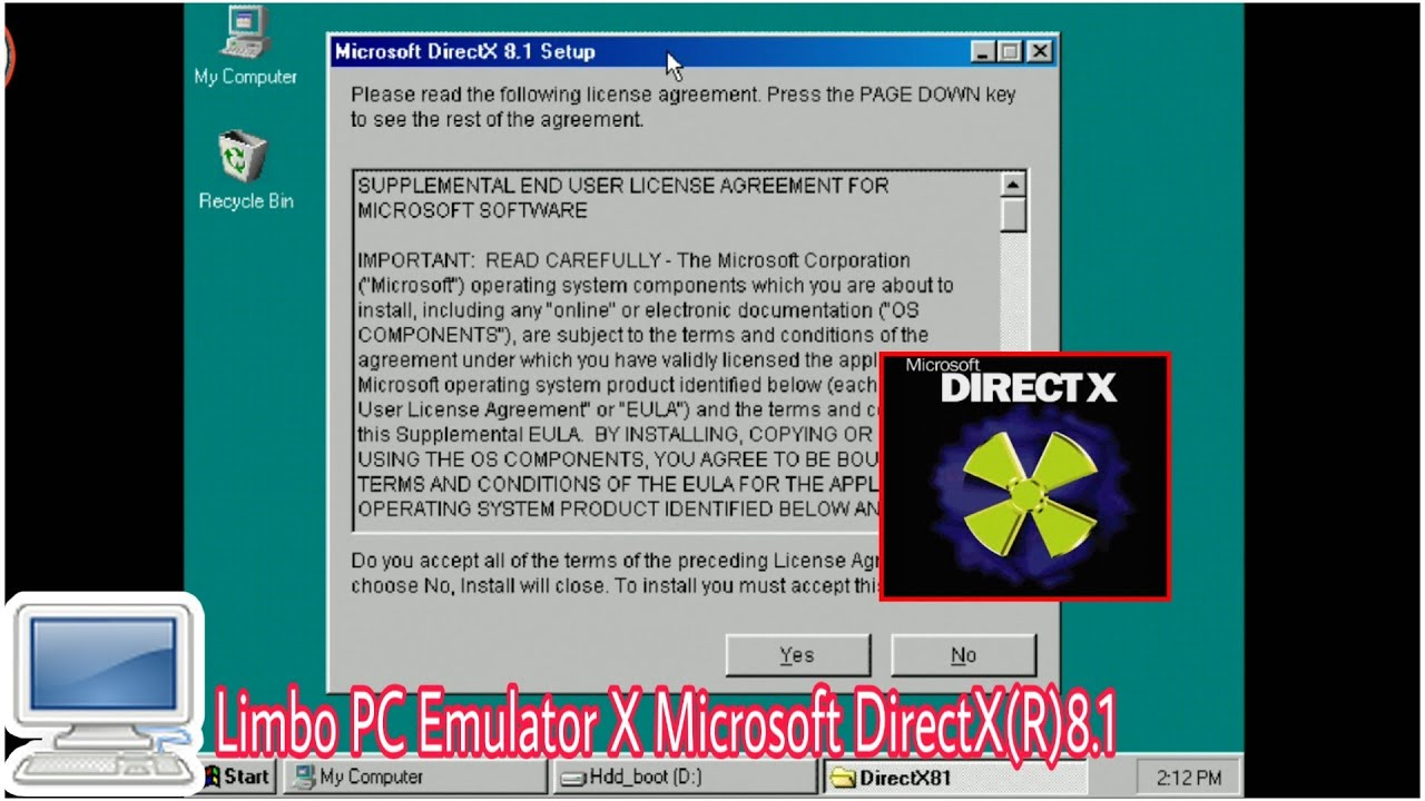 directx for win98se