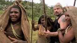 Madventures New Guinea - Welcoming with bows & arrows