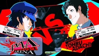 Persona 4 Arena Ultimax replay of Bossadai776 (Naoto Shirogane) goi...