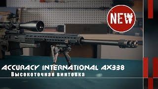Высокоточная винтовка Accuracy International AX338 (Новости и новинки)