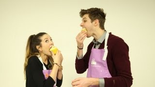 CUPCAKE DECORATING: CHALLENGE JIM WITH ZOELLA