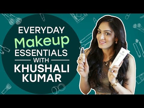 What's in my makeup bag with Khushali Kumar | Pinkvilla | Fashion | T-series