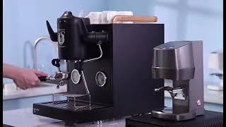 압력 조절 가능 자동탬핑기 충전식 커피 프레스