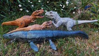 LittleBigPlanet 3 - Jurassic World Park Tour Featuring Indominus Rex T Rex Raptors & Mosasaurus
