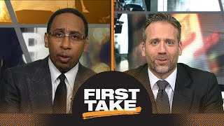 Stephen A. and Max debate if Cavaliers vs. Raptors series is over after Game 2 | First Take | ESPN