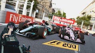 Болезненное Гран-при Баку😬 Force India F1 2017