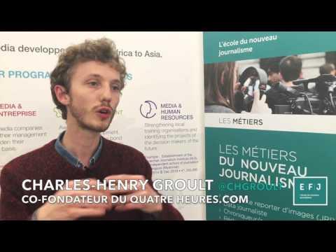 Charles-Henry Groult, co-fondateur du QuatreHeures.com à #4MParis