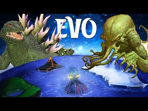 GODZILLA + CTHULHU MEET BIRTHDAYS the BEGINNING - Evo Gameplay |