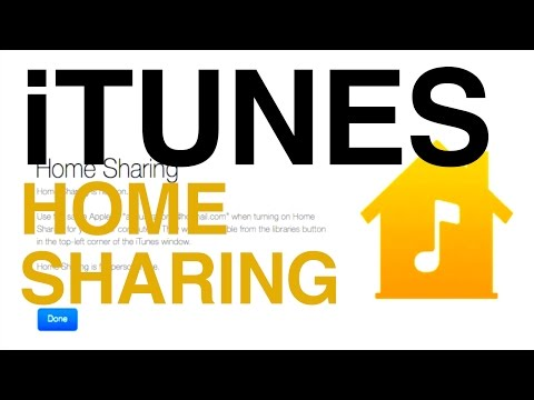 How To Turn On Itunes Home Sharing On Your Computer Mac Windows