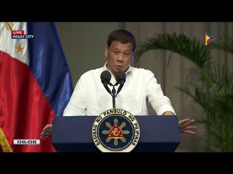 PRRD graces the 120th Anniversary Celebration of the Department of Justice at PICC in Pasay City.
