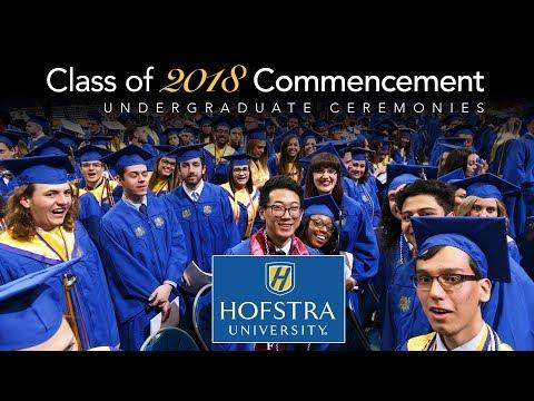 2018 Undergraduate Commencement II: 1 p.m. - Hofstra University