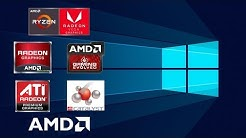 How to Install AMD GRAPHICS DRIVERS/ CHIPSET/PROCESOR/AUDIO DRIVERS