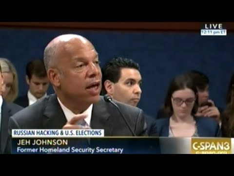 RUSSIA DID IT! Homeland Security Head Johnson