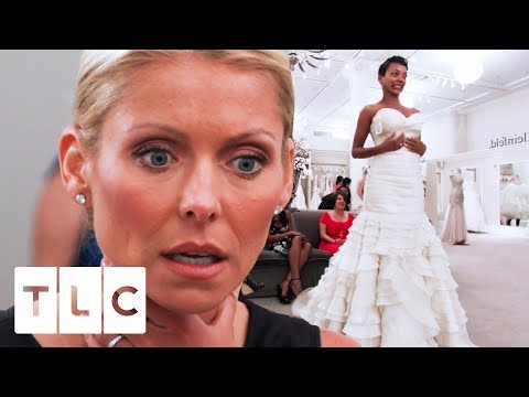 Kelly Ripa Is A Guest Bridal Consultant For The Day | Say Yes To The Dress US