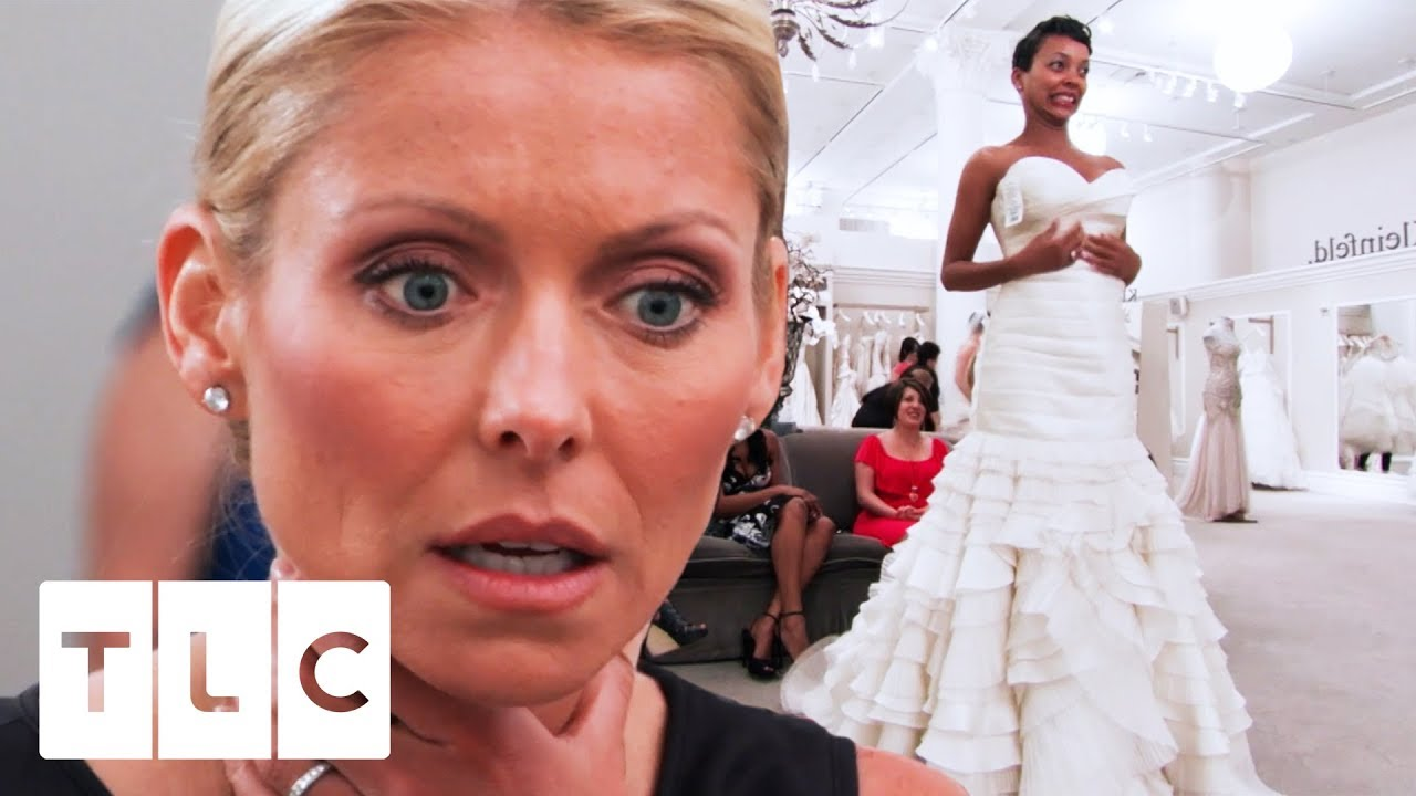 Kelly Ripa Is A Guest Bridal Consultant For The Day | Say Yes To The ...