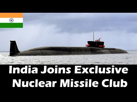India's Nuclear Triad Complete With Domestically Built Submarine's First Patrol