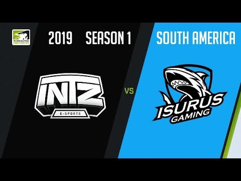 INTZ eSports vs Isurus Gaming vod