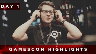 gamescom 2017 | Day 1 Highlights | TaKeTV