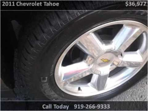 2011 Chevrolet Tahoe Used Cars Raleigh Nc Youtube