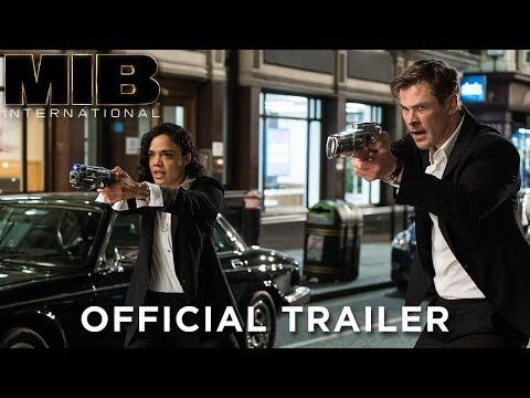 Chris Hemsworth y Tessa Thompson en el divertido tráiler de Men in Black: International