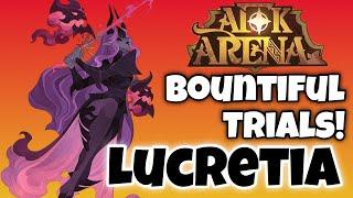 LUCRETIA - ARENA OF TRIALS - FULL CLEAR! [AFK ARENA GUIDE]