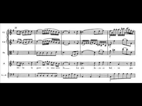 Mozart - Le nozze di Figaro - Aria di Marcellina (atto IV) - (score)