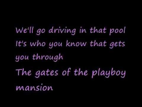 U2-The Playboy Mansion (Lyrics)