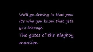U2-The Playboy Mansion (Lyrics)