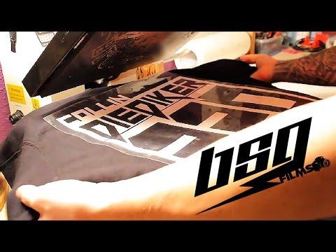 BSG Jersey lettering