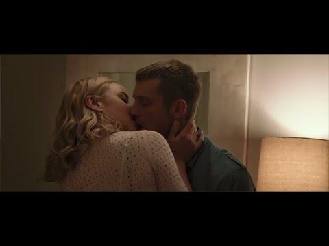 Abbie Cornish and Joel Kinnaman hot kissing  in Robocop