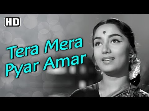 Tera Mera Pyar Amar | Dev Anand | Sadhana | Asli Naqli | Lata Mangeshkar | Evergreen Hindi Songs
