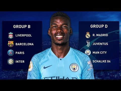 Best Champions League Teams In The SAME Groups! - FIFA 19 Career Mode