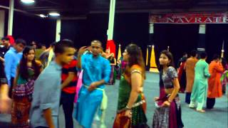 garba 3 taali and hinch remix navratri 2012 somerset new jersey full hd 1080p