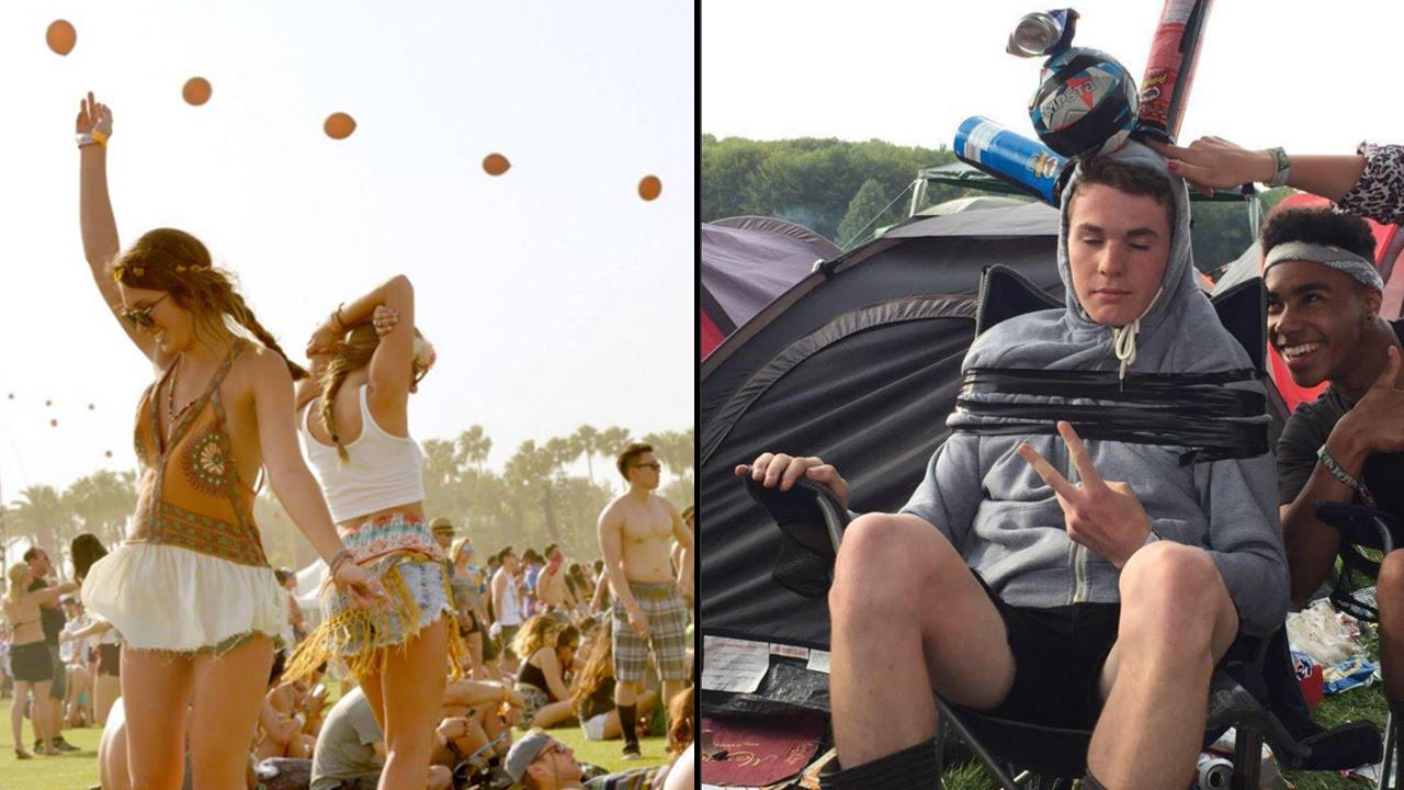 coachella 2016 vs tea in the park 2016