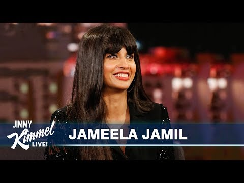 Ted Danson Almost Killed Jameela Jamil